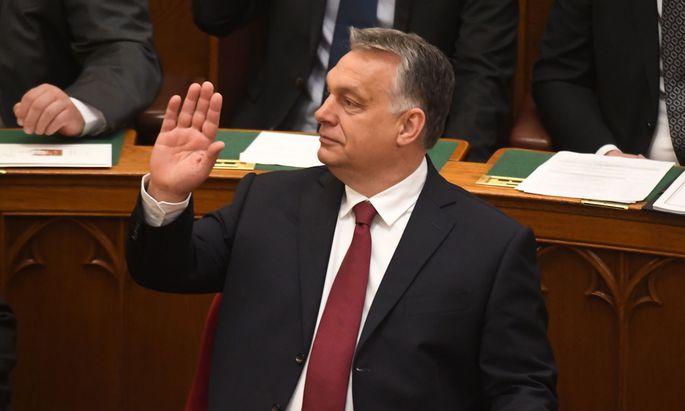 Premier Viktor Orbán