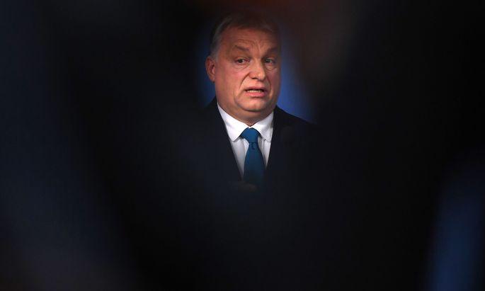 Ungarns Premier bezeichnete es als seine Pflicht, sich Frankreichs Präsident Macron in Europa entgegenzustellen.