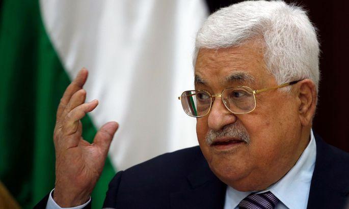 Palästinenserpräsident Mahmoud Abbas.