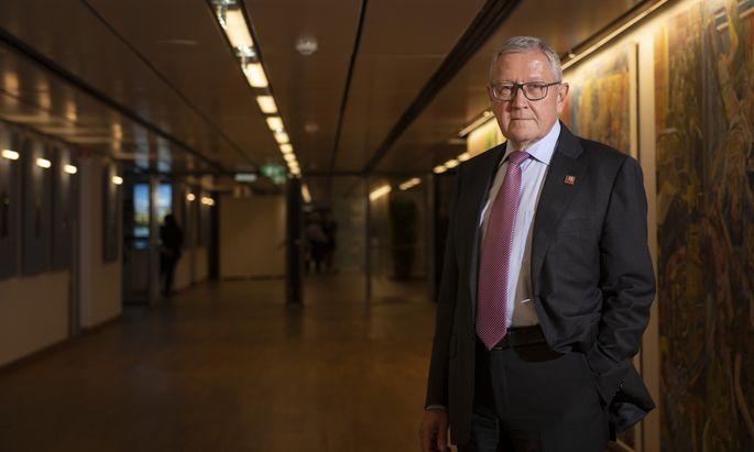 Beim Ecofin-Treffen im Wiener Austria Center war auch die Expertise von ESM-Chef Klaus Regling gefragt – für die anstehende Reform der Eurozone.