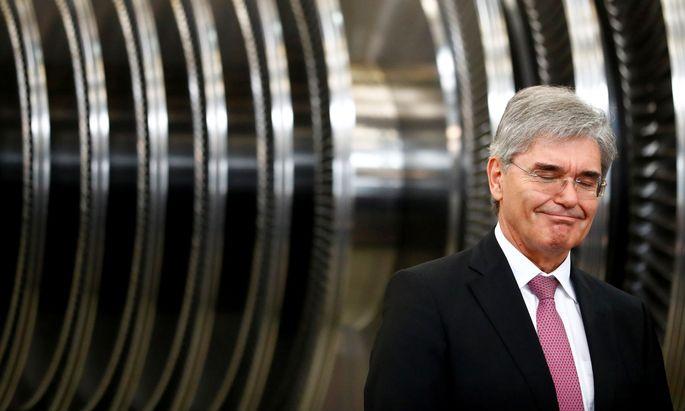 Siemens-Chef Joe Kaeser darf sich über niedrige Finanzierungskosten freuen.