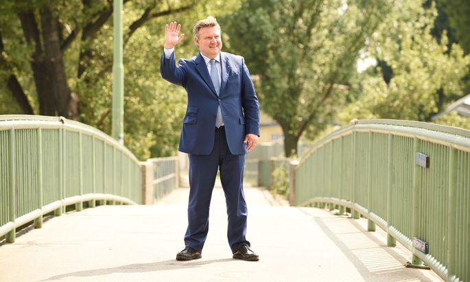 Seine erste Wahl: Michael Ludwig, seit Mai 2018 Bürgermeister und Landeshauptmann von Wien.