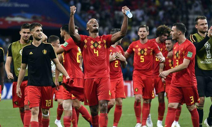 Belgien gegen Brasilien