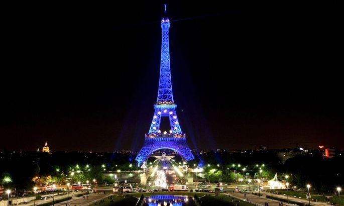 FRANCE PARIS EUROPEAN UNION EIFFEL TOWER