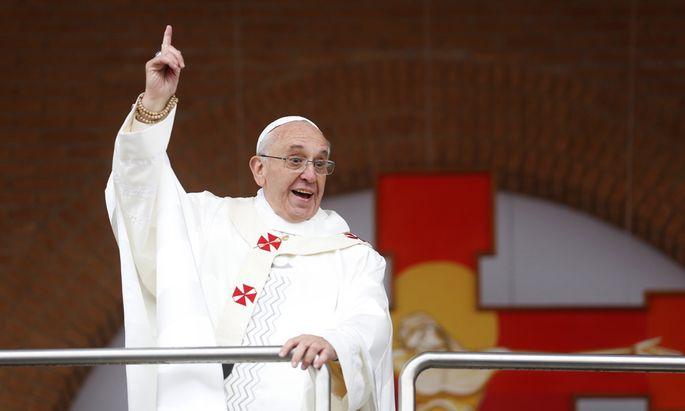 Geld und Macht: Papst warnt vor