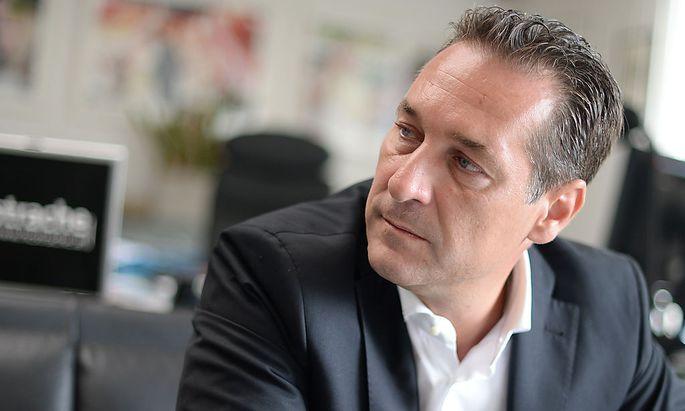 FPÖ-Klubobmann Heinz-Christian Strache