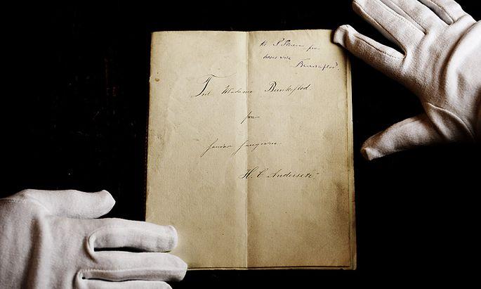 Hans Christian Andersens erstes