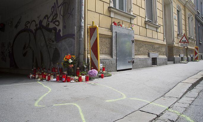 Einer der Tatorte in Graz