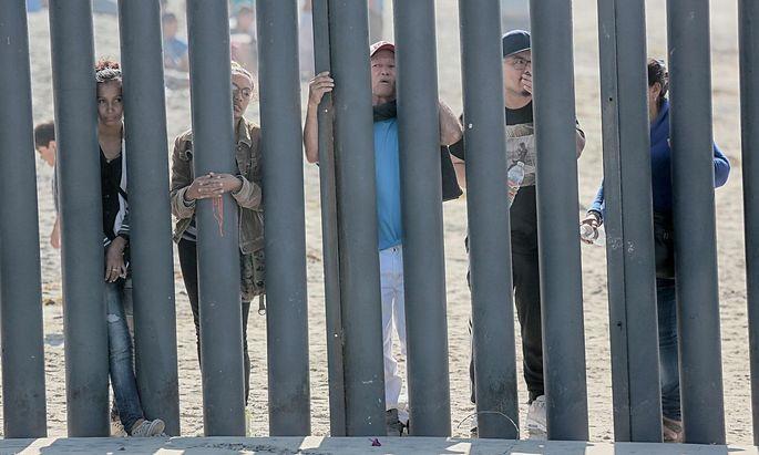 Die Mauer war ein zentrales Versprechen im Wahlkampf 2016.