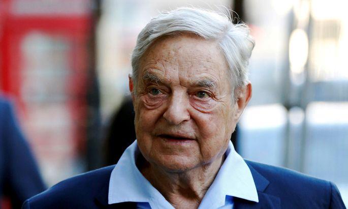 Georg Soros gilt als Hassfigur für Rechtsextremisten