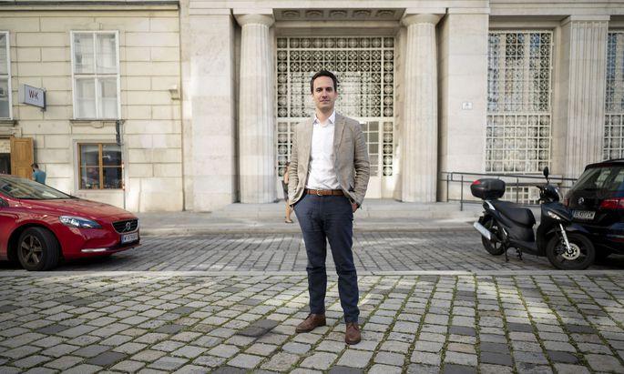 Christoph Wiederkehr gelang der Aufstieg vom Studentenvertreter zum Neos-Wien-Parteichef in kürzester Zeit. Nun wartet ein Platz in der Stadtregierung auf ihn.