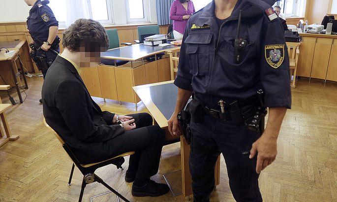 Josef S. am Dienstag vor Gericht