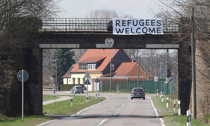 In Tröglitz werden vorerst zehn Flüchtlinge in Privatquartieren unterkommen.