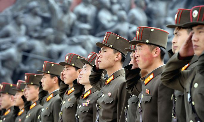 Die Übung fand in der Hafenstadt Wonsan statt und soll von Machthaber Kim Jong-un überwacht worden sein.