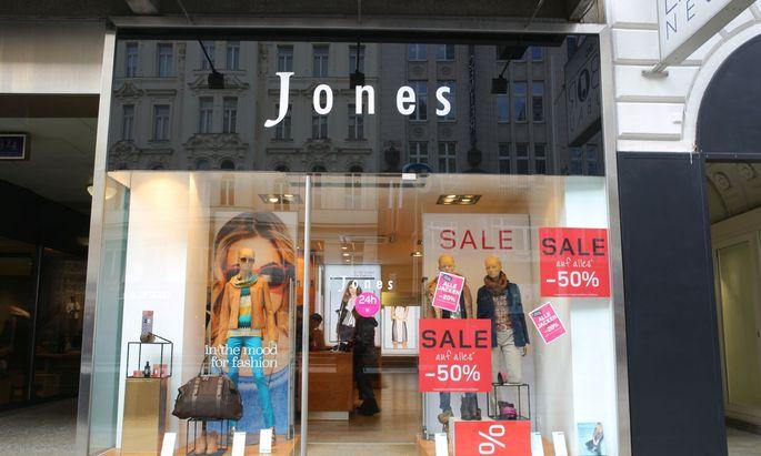 Jones will wieder mehr Kundinnen in die Läden locken