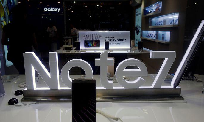 Samsung hat monatelang die Ursachen untersucht.