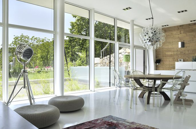 Terrassen-Apartmenthaus von X42 Architekten in Gießhübel.