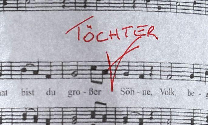 Symbolbild: Hymne