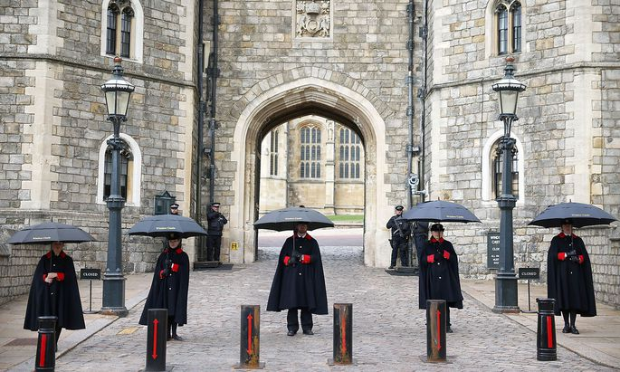 Prinz Philip starb in Windsor Castle.