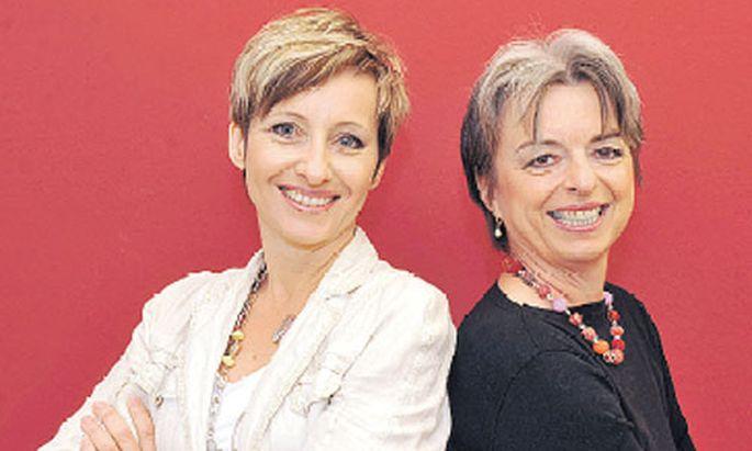 Monika Wokurek und Eva Goll-Volpini