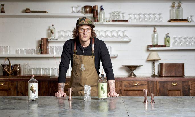 Vorreiter. Ben Branson von Seedlip begann 2014 auf der familieneigenen Farm zu experimentieren.