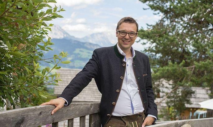 Der Ennstaler Hotelier Gerhard Höflehner hat aus einem kleineren Betrieb ein größeres Vier-Sterne-Superior-Haus gemacht.