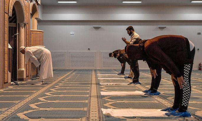 Bild aus einer Moschee.