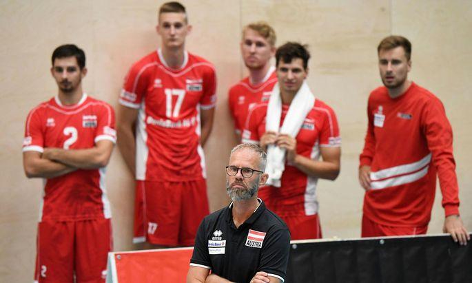 Für Österreichs Volleyballer läuft der Countdown zur EM.
