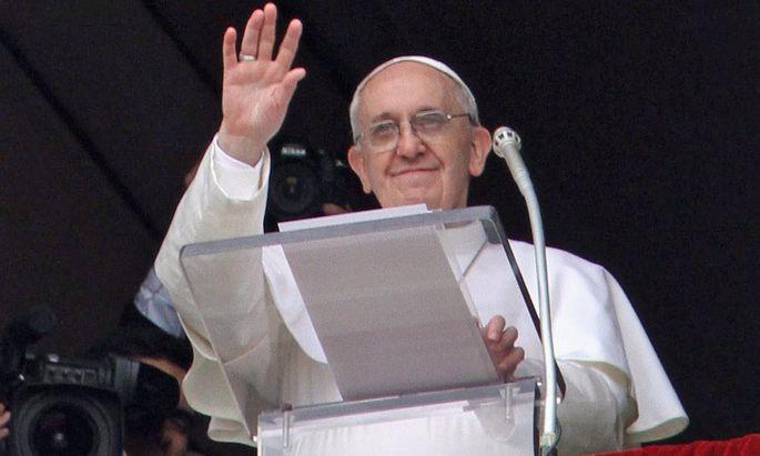 Franziskus Erstes AngelusGebet Sonntag