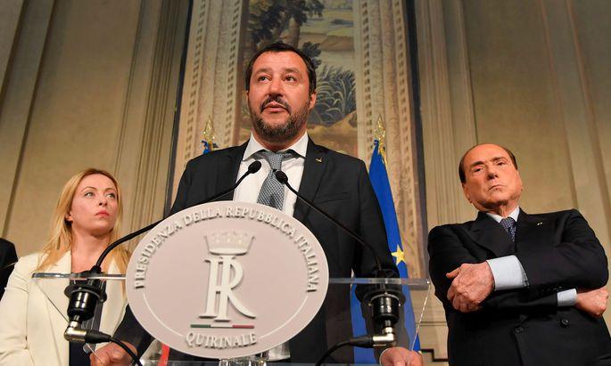 """""""Der 8. Juli ist der nächstbeste Wahltermin"""", sagt Matteo Salvini."""