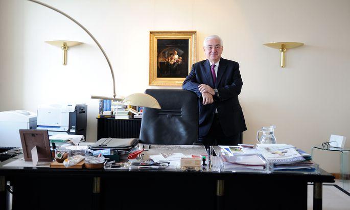 Walter Rothensteiner, der Aufsichtsratsvorsitzende der Casinos Austria (Archivbild von 2015).