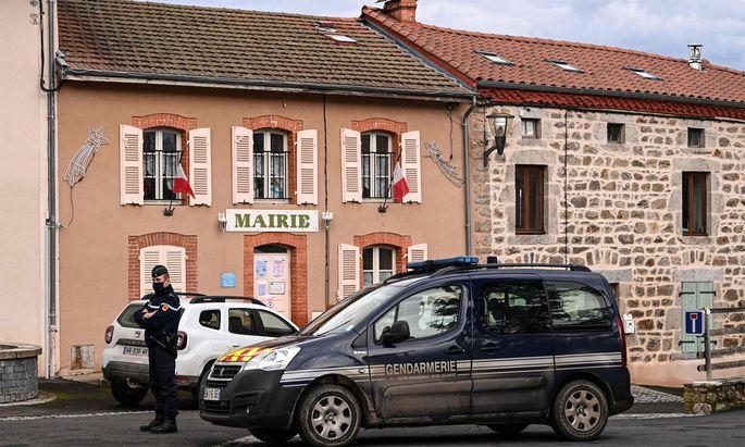 Der französische Ort Saint-Just.