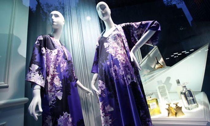 Saks Fifth Avenue store window
