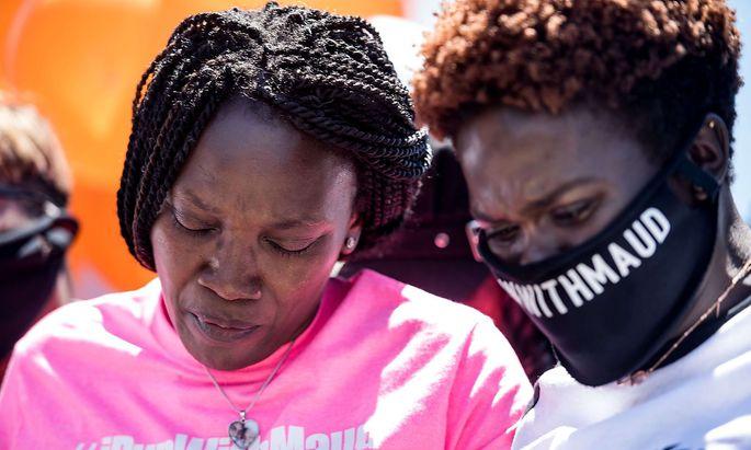 Nicht nur in Georgia kam es zu Solidaritätskundgebungen nach dem Mord an Arbery