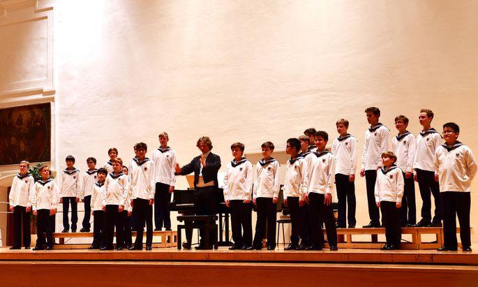 Archivbild: Die Wiener Sängerknaben bei einem Konzert in Salzburg