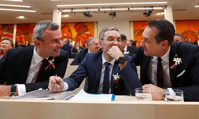 Die FPÖ und die Strache- und Kickl-Frage.