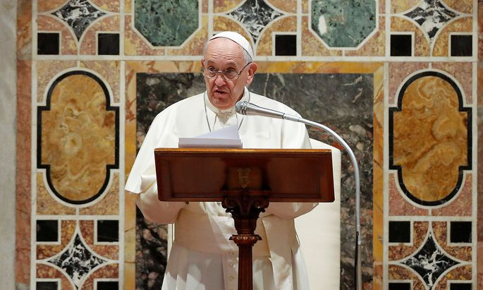 Pope Francis holds audience with members of the Diplomatic Corps accredited to the Holy See