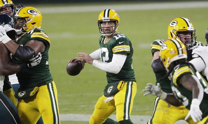 Aaron Rodgers, Quarterback-Star der Green Bay Packers, möchte seinen zweiten Super-Bowl-Ring nach 2010.