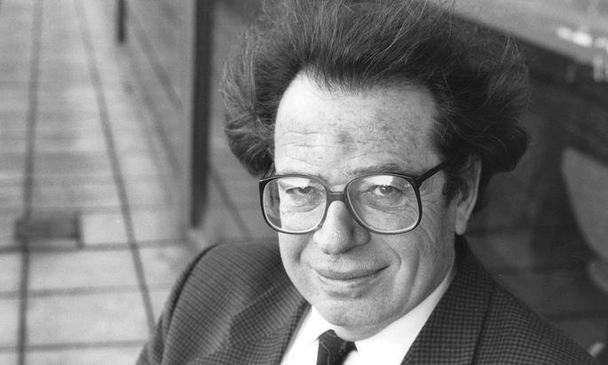 Der ungarische Romanautor, Essayist und Intellektuelle György Konrád (1933–2019)