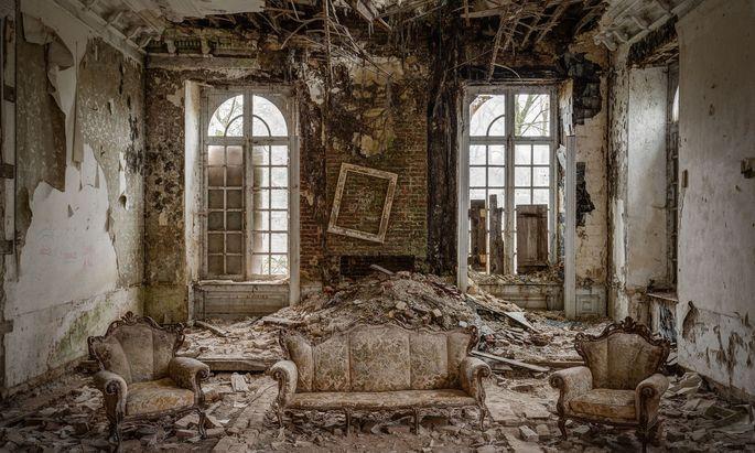 Eines seiner beeindruckendsten Bilder machte Thomas Windisch in einer alten Villa in Belgien.