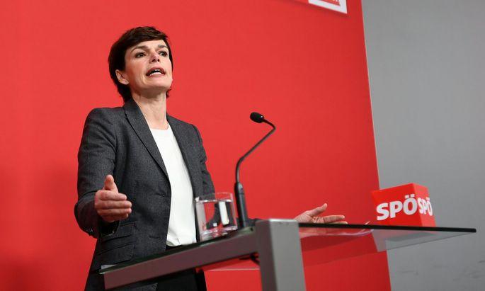 Parteichefin Pamela Rendi-Wagner