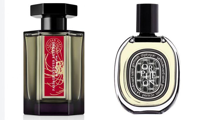 """""""Passage d'Enfer Extrême"""" von L'Artisan Parfumeur (100ml um 145 €) und """"Orphéon"""" von Diptyque (75ml um 135 €)."""