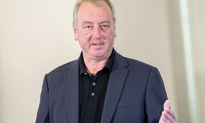 Nationalratsabgeordneter Wolfgang Zanger