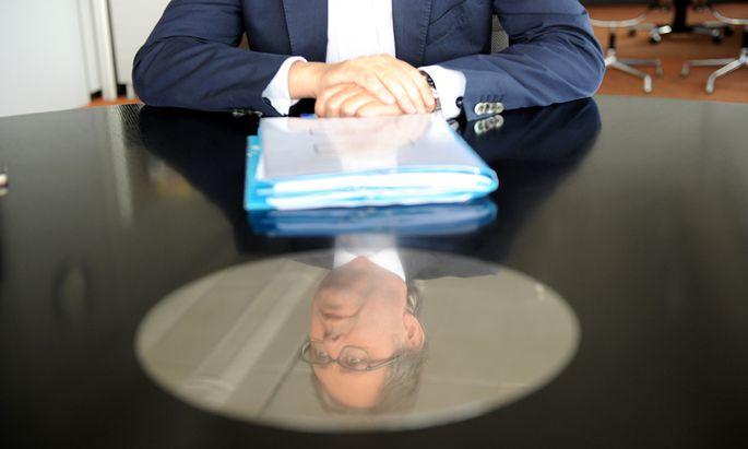 Der bisher einzige Kandidat für die ORF-Wahl: Alexander Wrabetz hofft auf eine dritte Amtszeit.