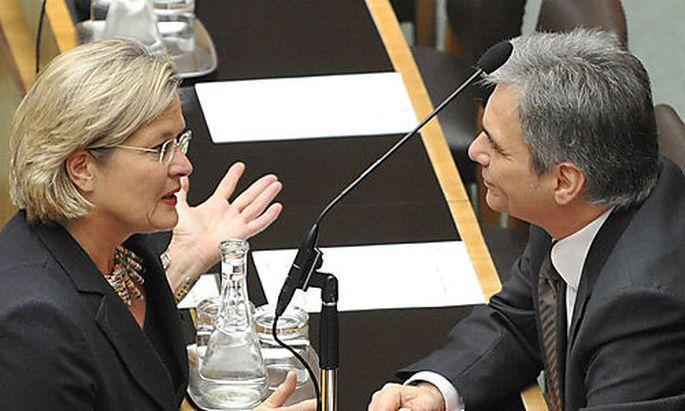 Werner Faymann, Ursula Plassnik