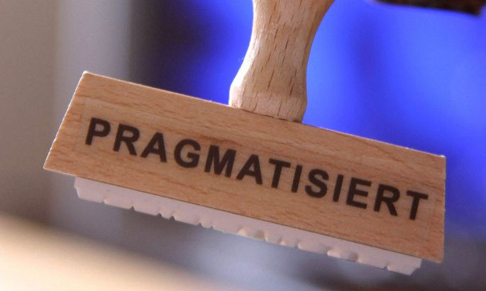 Stempel Pragmatisiert
