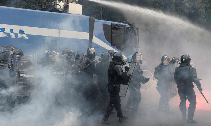 ITALY ECONOMY EU PROTEST