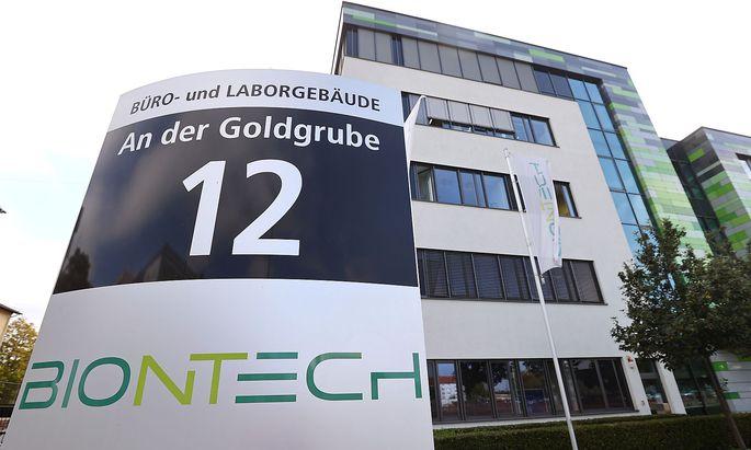 Der Hauptsitz von Biontech in Mainz.