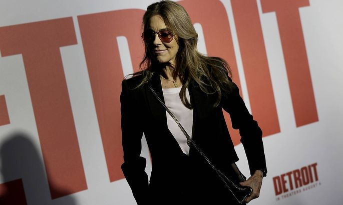 Bilder des Tages July 25 2017 Detroit MI USA Director and producer Kathryn Bigelow arrives fo