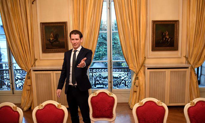 Bundeskanzler Sebastian Kurz reist nach seinen Gesprächen in Paris in der vergangenen Woche am Mittwoch nach Berlin.